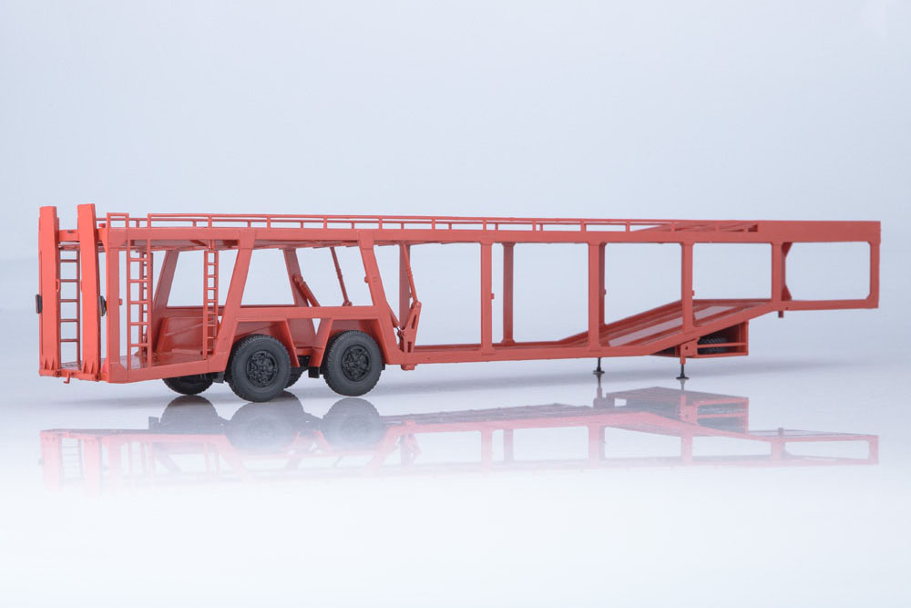A908 USSR RUSSIAN CAR AUTOHISTORY 102484 1:43 TRAILER CARRIAGE 934410