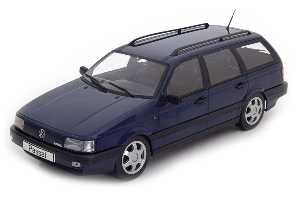 1988 Volkswagen VW Passat B3 VR6 Variant schwarz metallic 1:18 KK